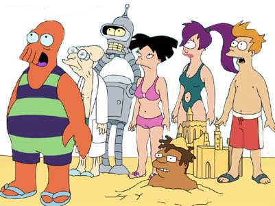 Futurama. Popular animated comedy series from Matt Groening - who also created The Simpsons.